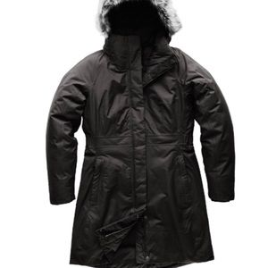 The North Face Down Arctic Parka II Black